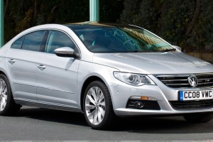 2009 Volkswagen Passat CC GT Front Side Pose In Silver