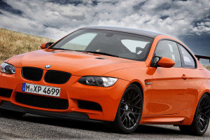 2011 BMW M3 GTS In Orange At GoodWood Festival Of Speed