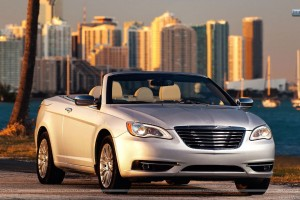 2011 Chrysler 200 Convertible Front Side