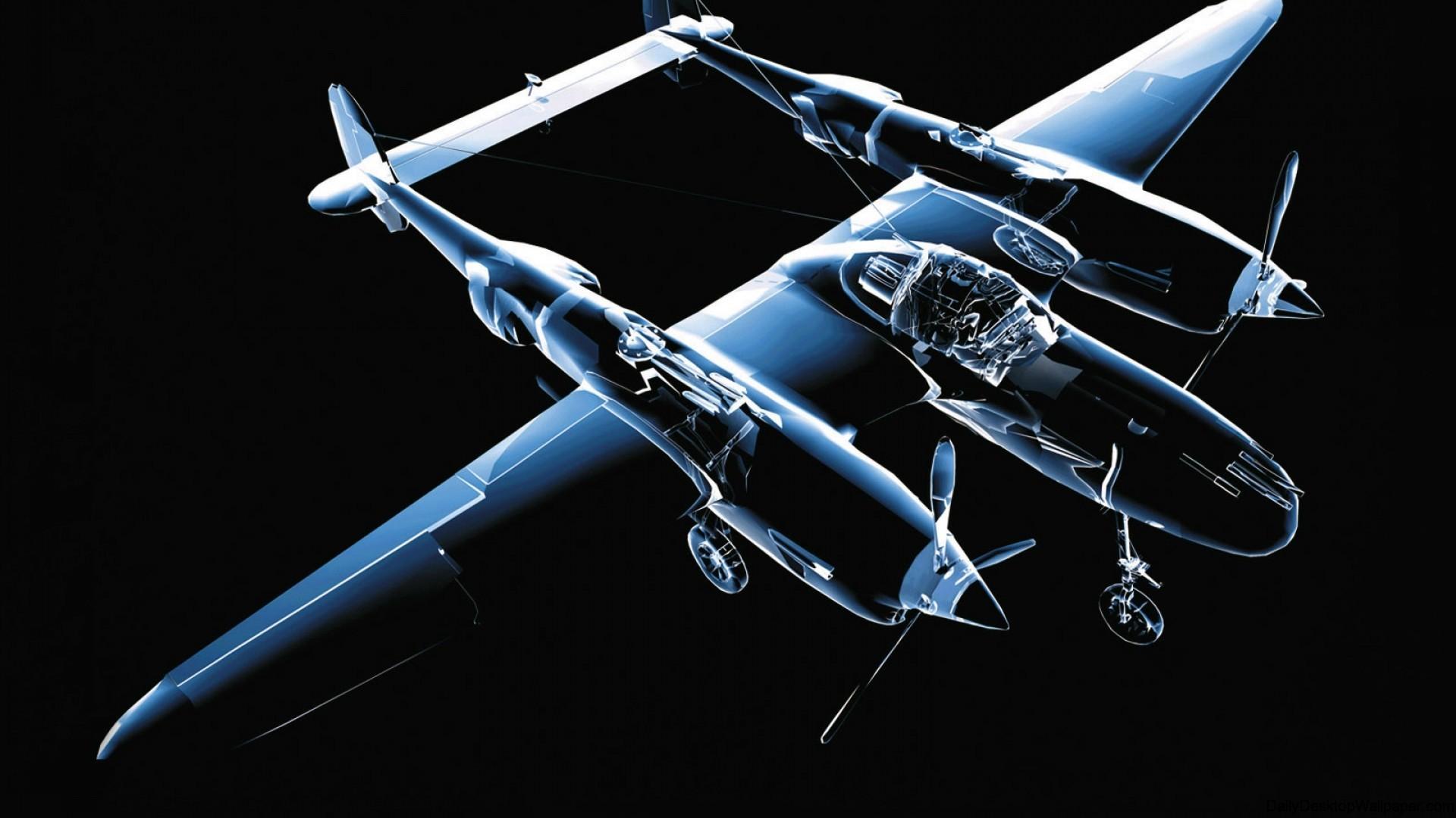 3D-Aircraft-Wallpaper