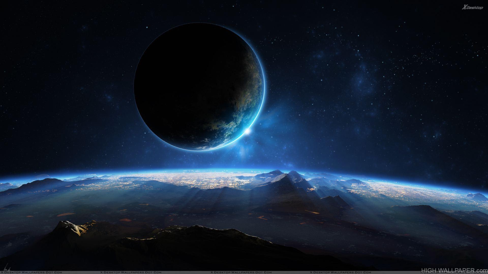 3D Distant Planet