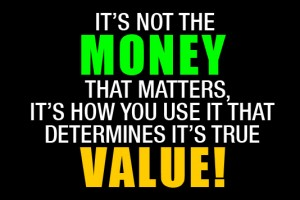 Quote Money that matters