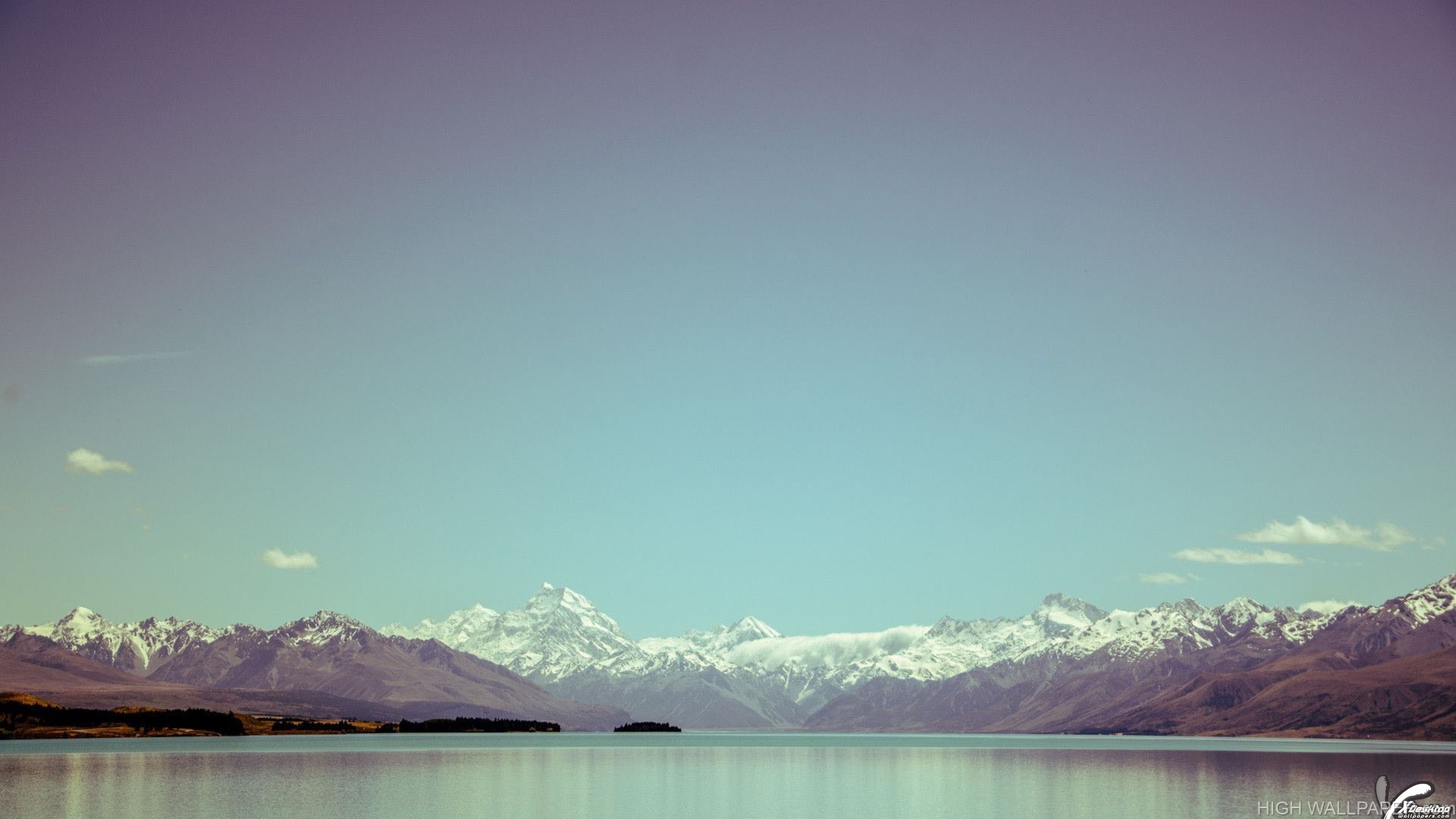 A Whole Blue Sky In Southern Alps