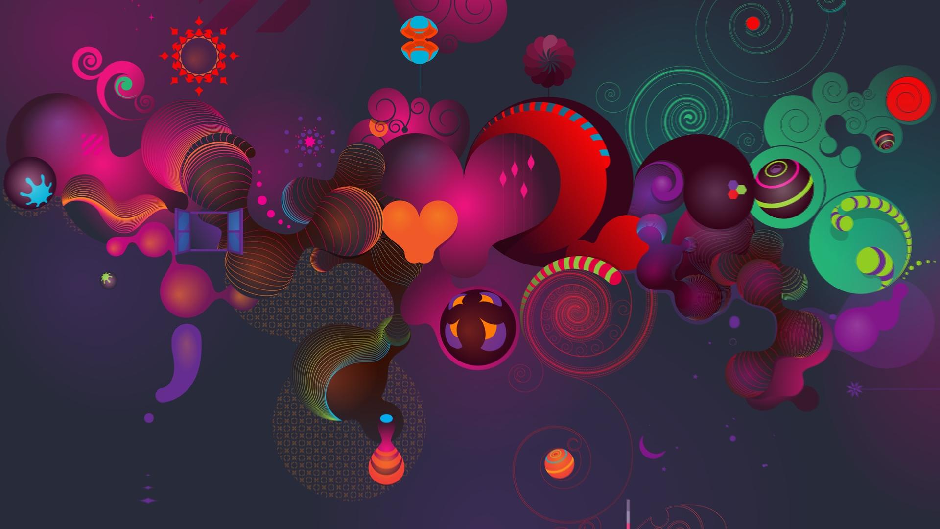 Abstract-Cartoon-Wallpaper