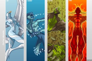 Air-Water-Earth-Fire-Carton-Wallpaper