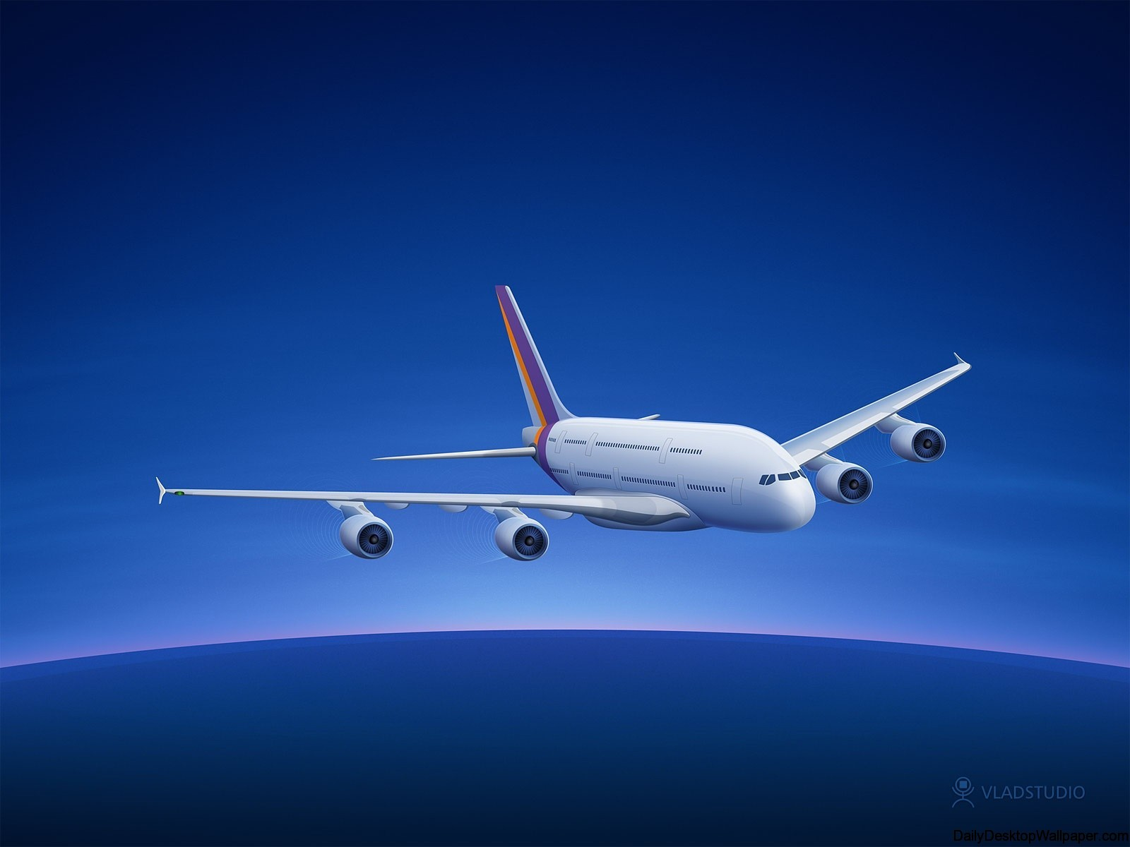 Airbus-A380-generated-wallpaper