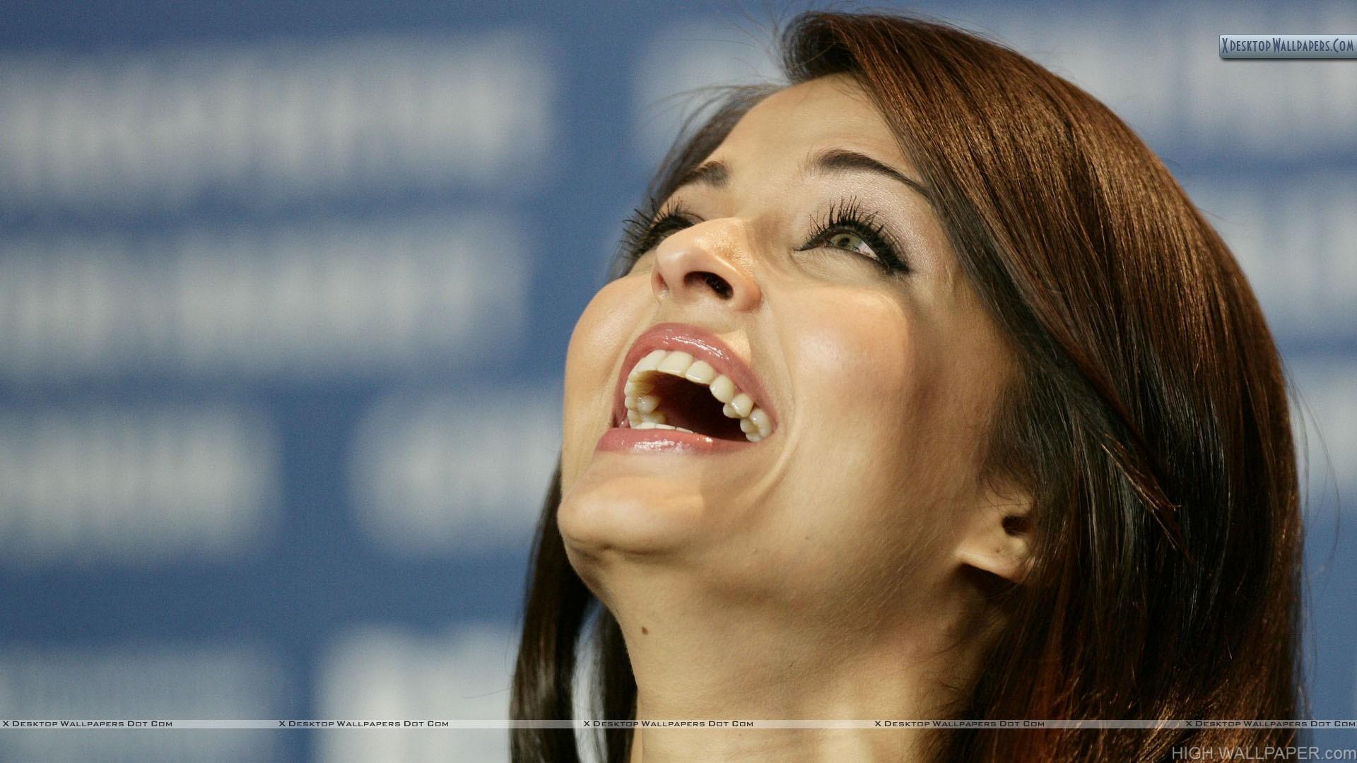 Aishwarya Rai Laughing