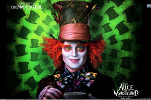 Alice In Wonderland Johnny Depp Smiling