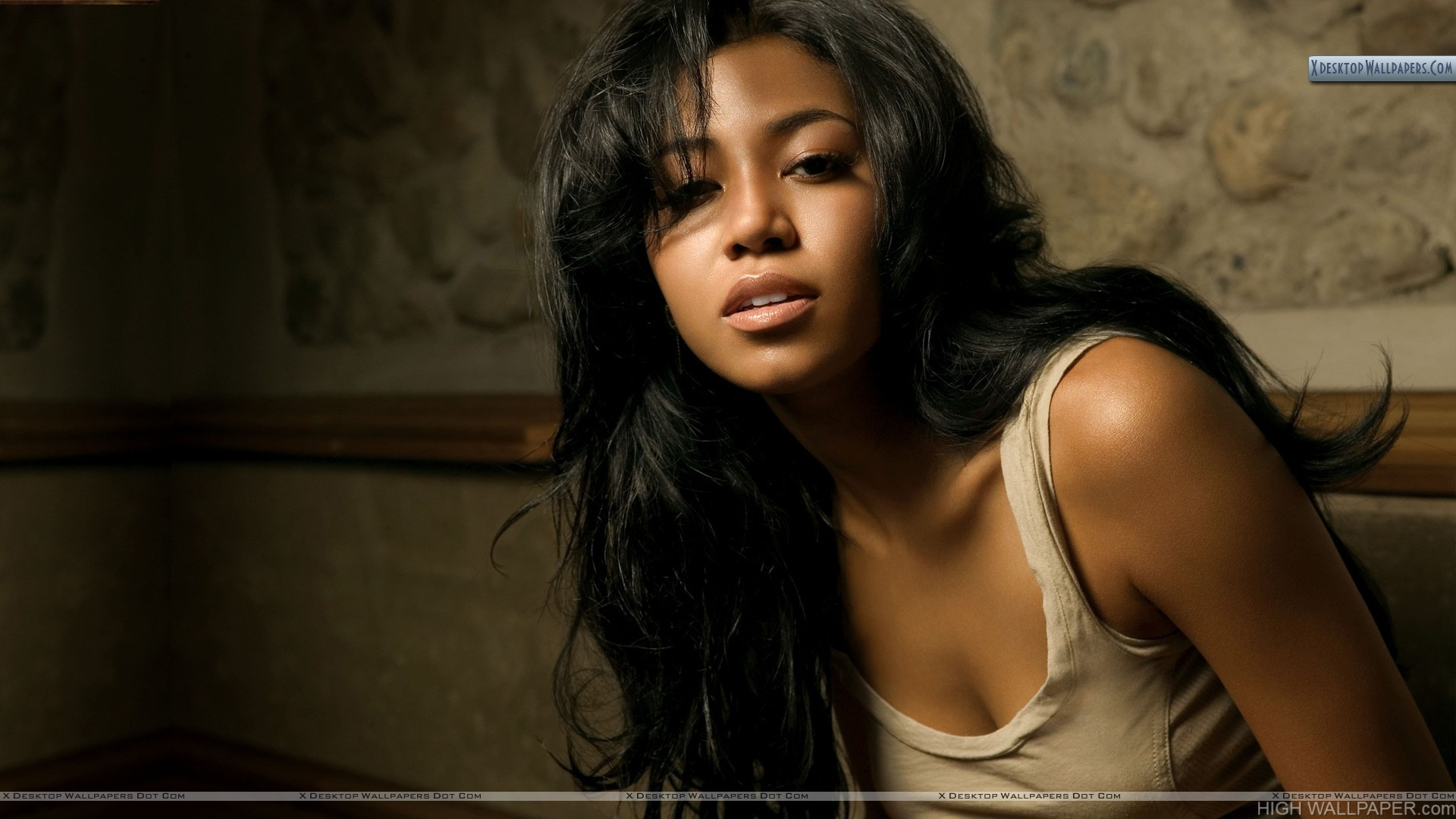 Amerie Sad Face Photoshoot