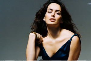 Ana De La Reguera In Sexy Blue Dress