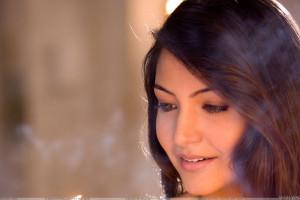Anushka Sharma Smiling Side Face Closeup