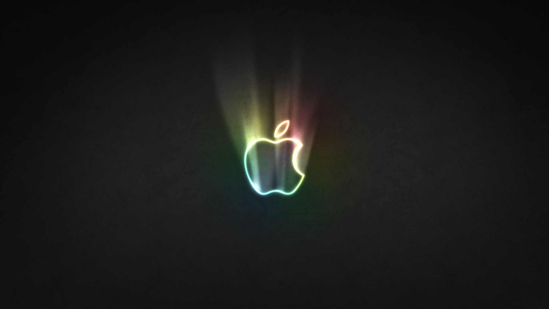 Apple-Glowing-Logo-Wallpaper