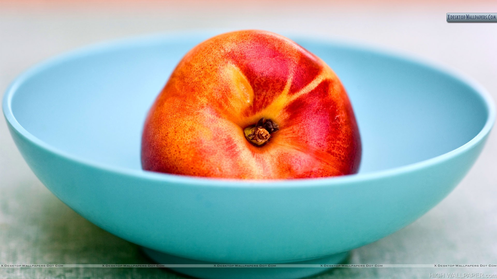 Apple In Bowl Nice Photo