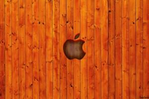 Apple-Wooden-Wallpaper