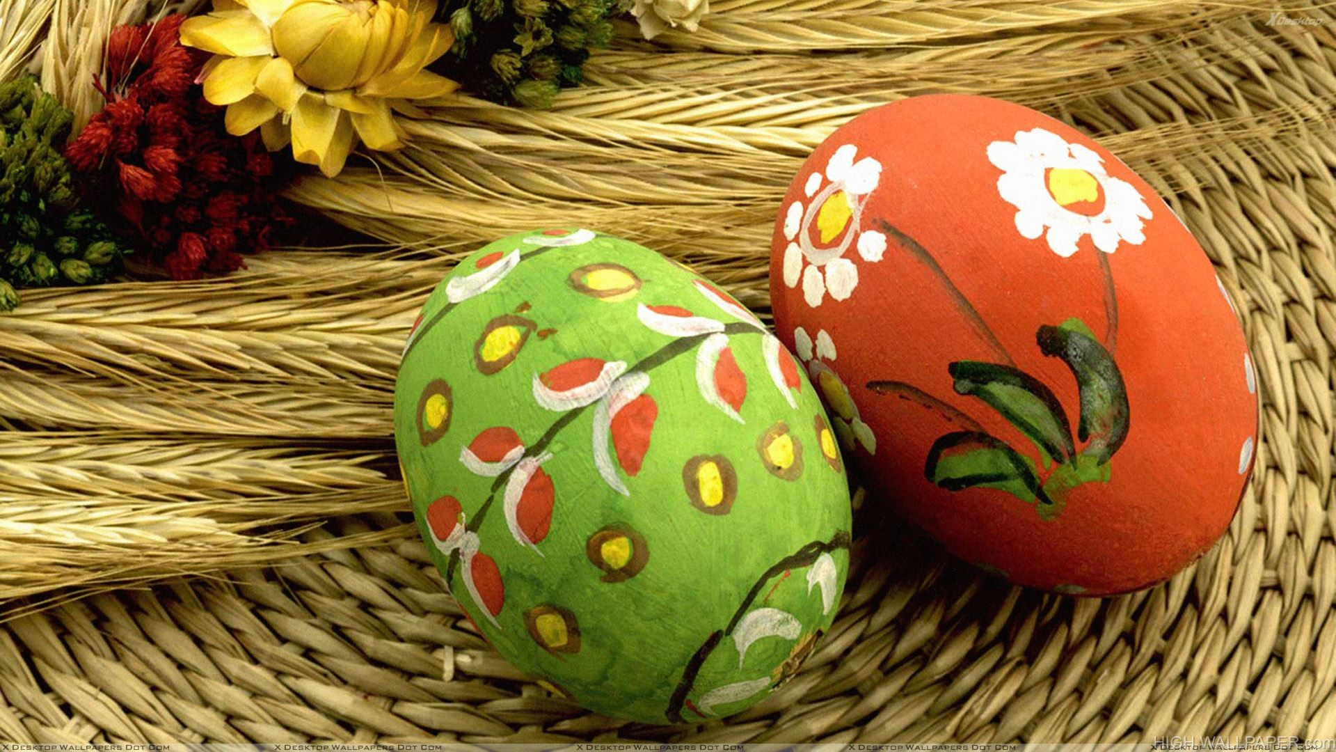 Art With Paint On Eggs
