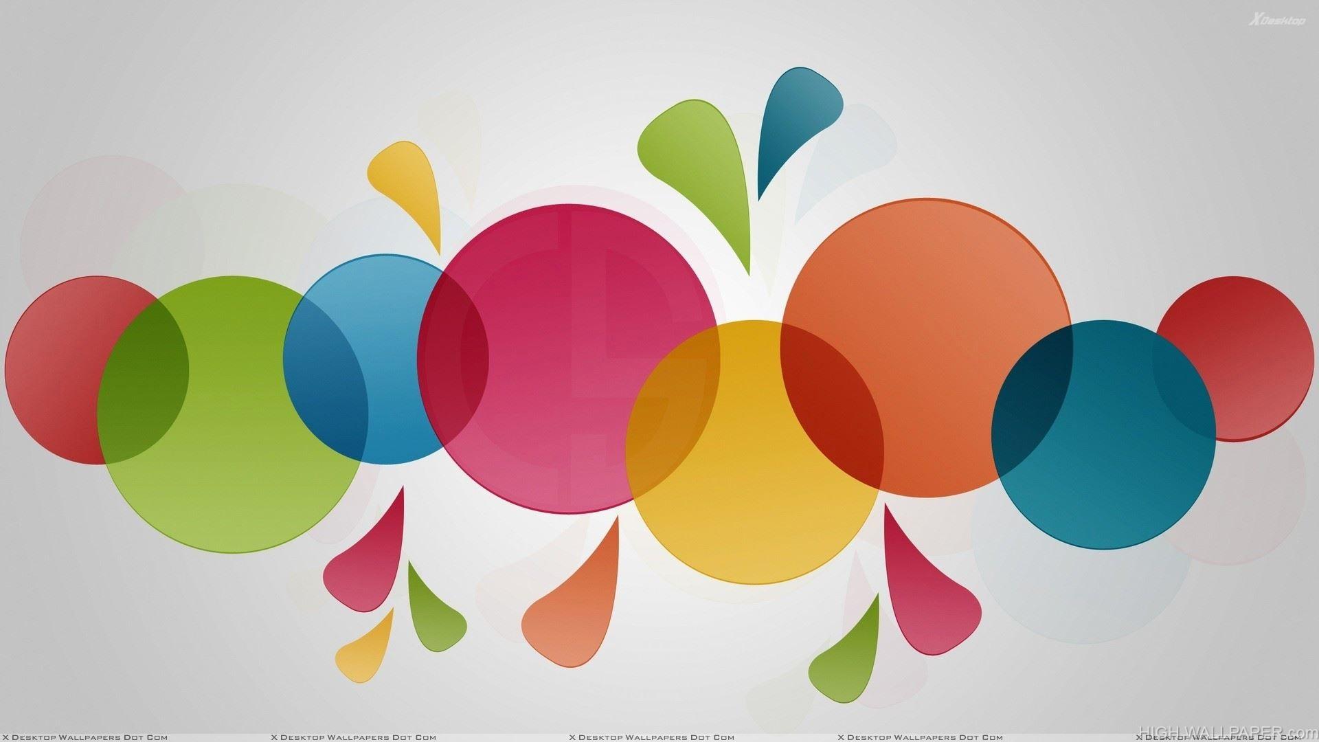 Artistic Colorful Circle
