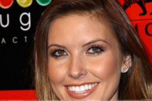 Audrina Patridge Face Closeup At Sugar Factory Grand Opening