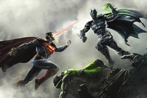 Batman vs Superman Fight