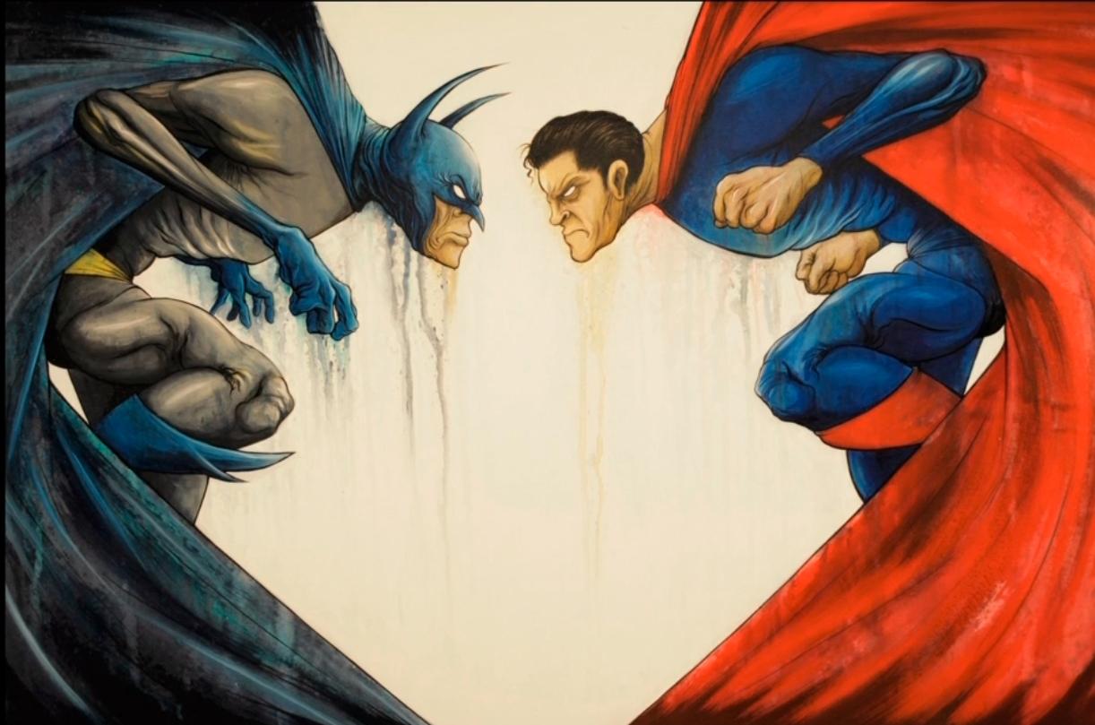 Batman vs. Superman Artwork