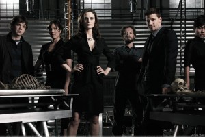 Bones Characters Wearing Black Dress
