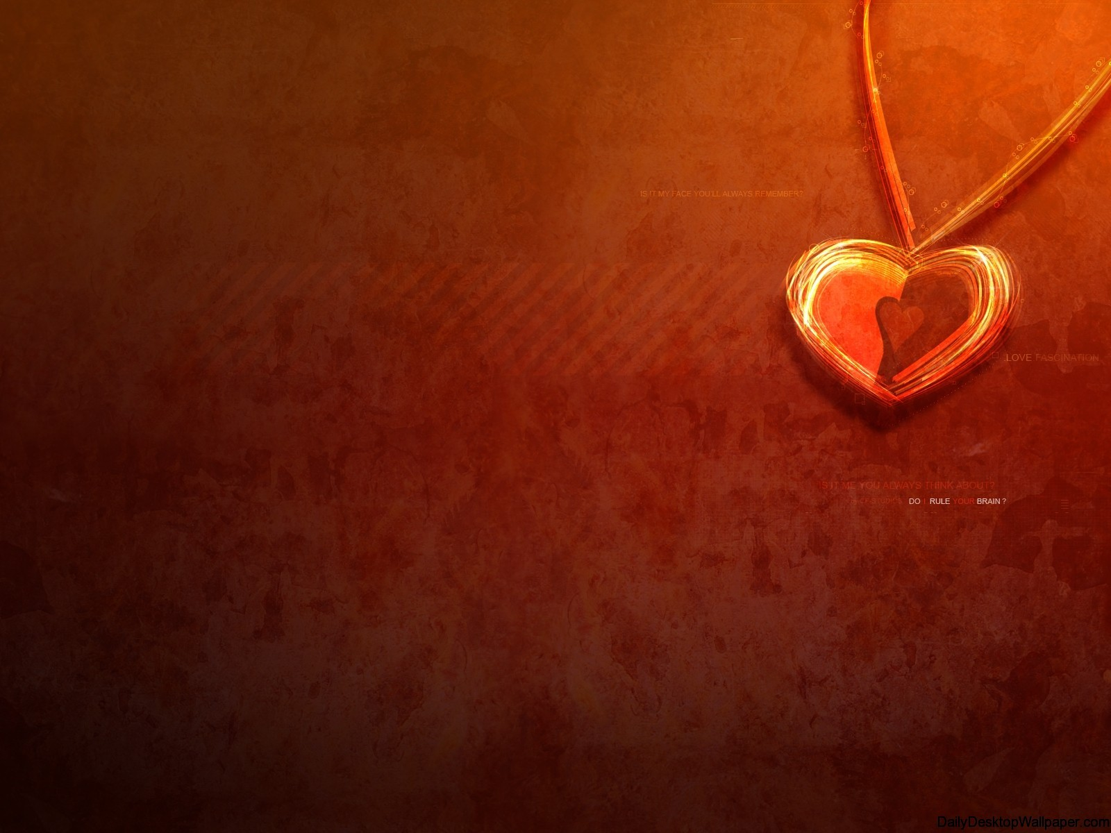 Bown Heart Abstract-Wallpaper-_7