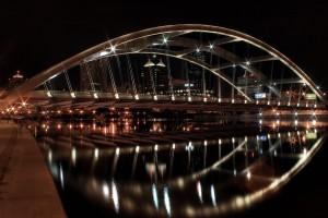 Bridge-Over-Water-Wallpaper