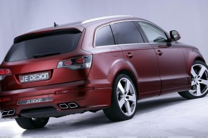 Brose Je Design Audi Q7 Back Side Pose