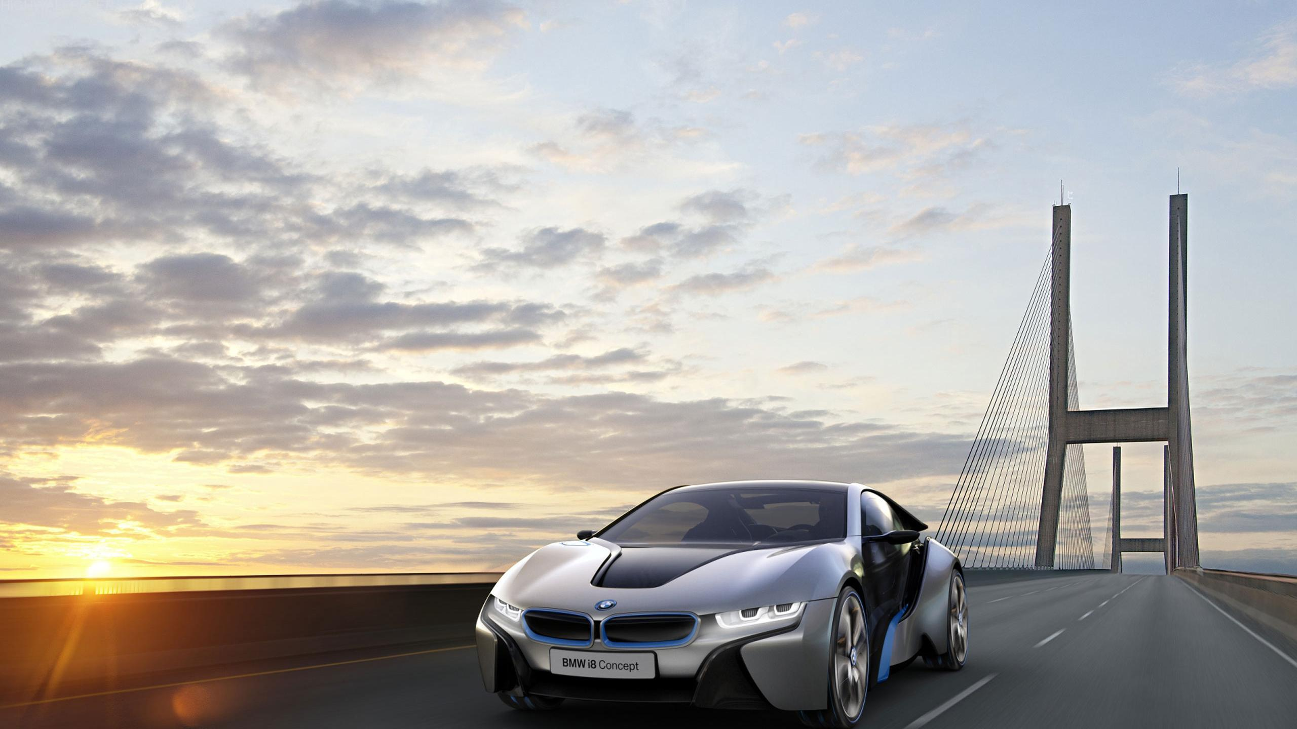 BMW Vision Black and Grey Front Look