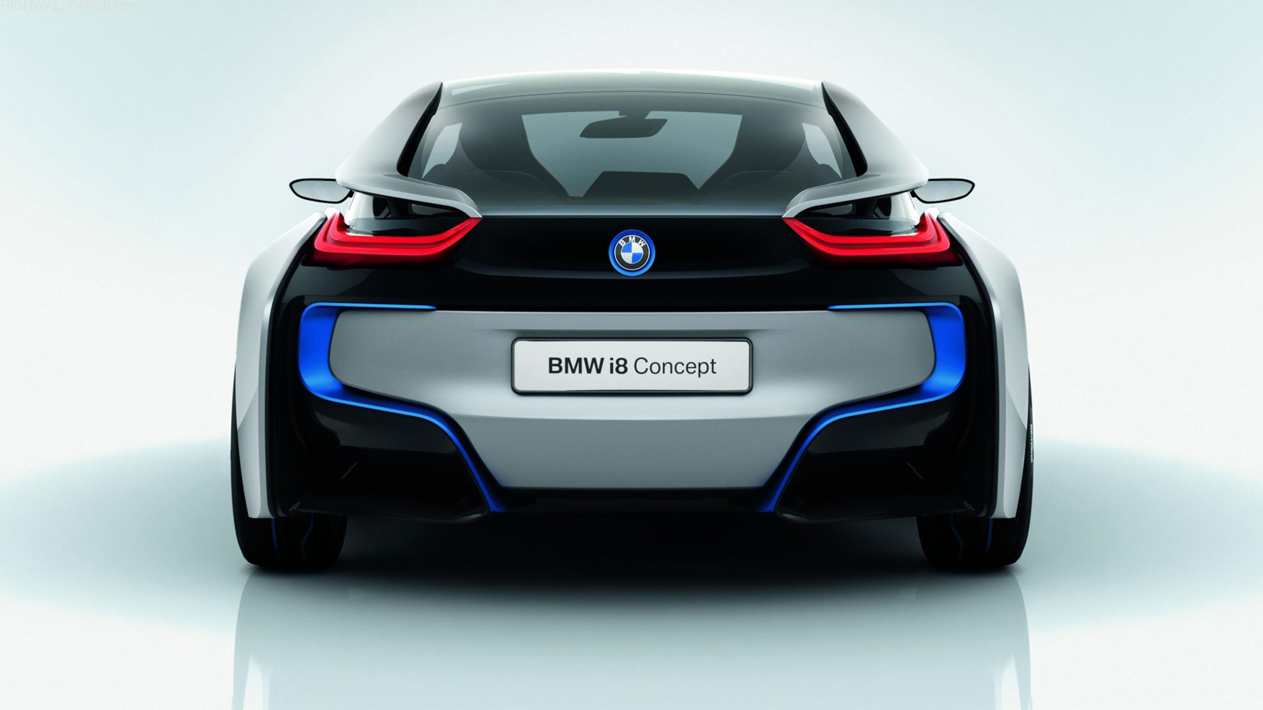 BMW i8 Concept Rear Look