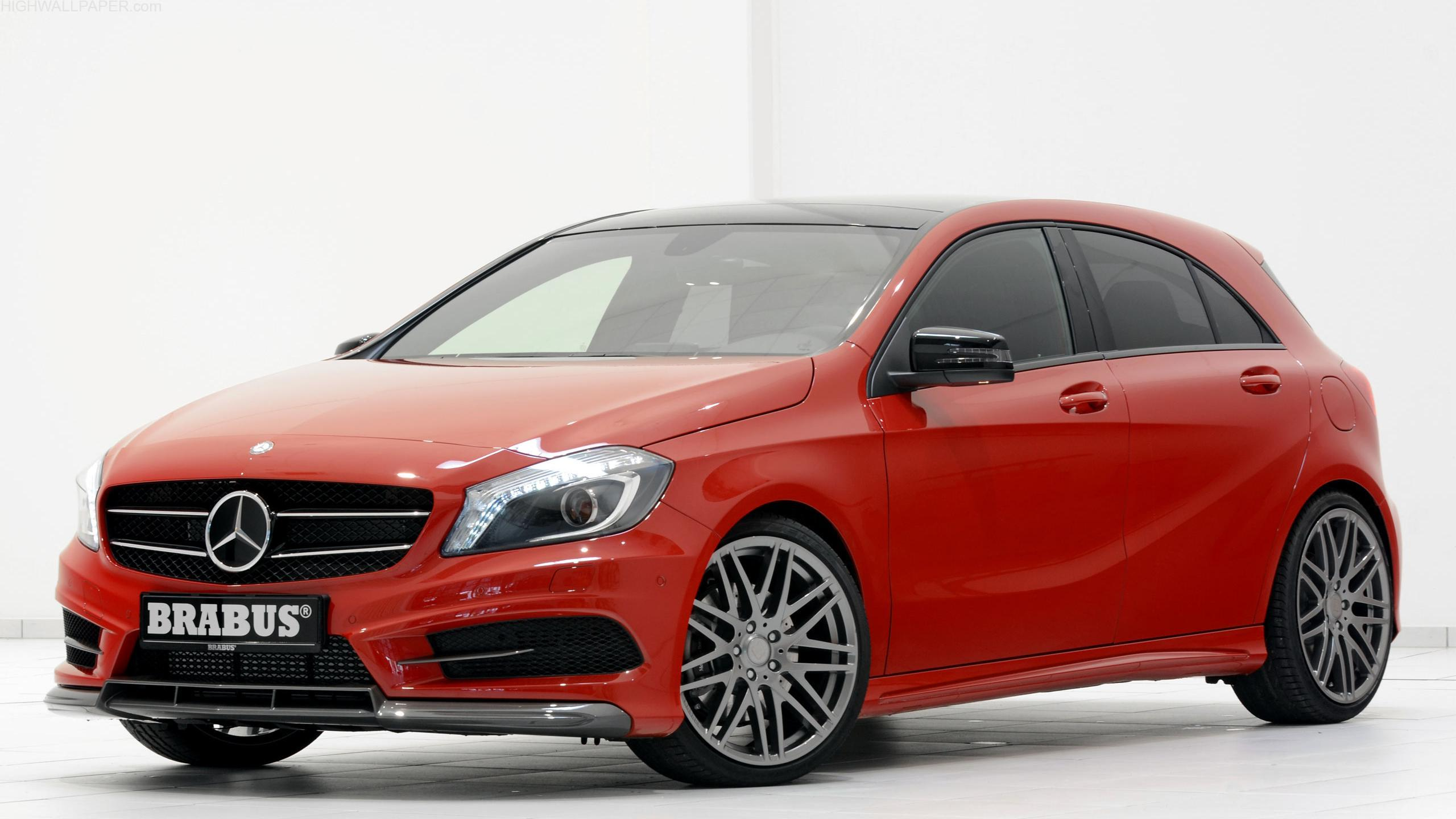 Mercedes Brabus Red