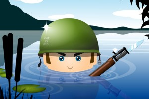 Cartoon-Soldier-Wallpaper