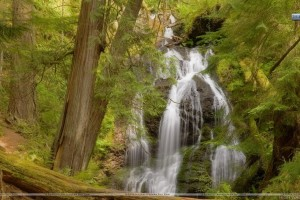 Cascade Falls Moran State Park Orcas Island Washington