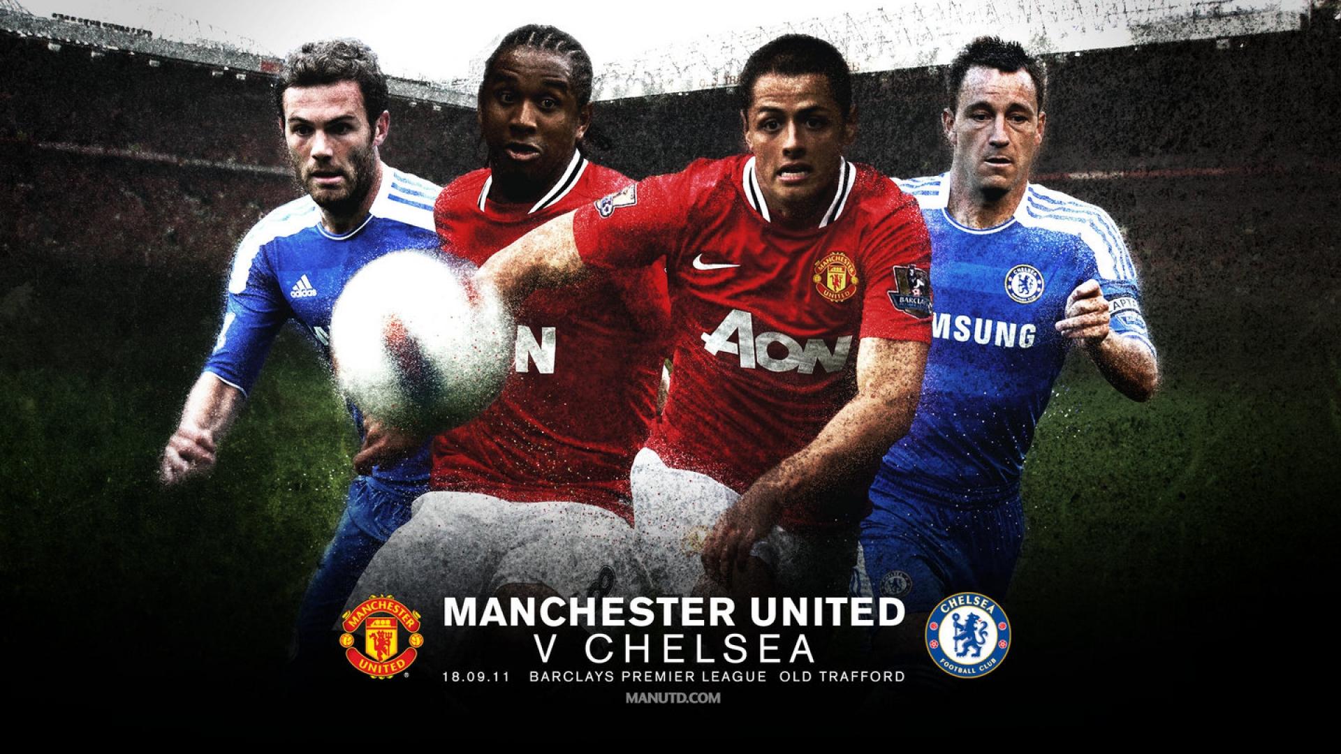 Chelsea-V-Machester-United-Wallpaper