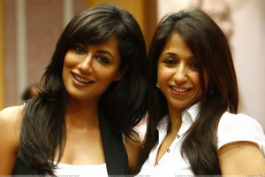 Chitrangada Singh Smiling With Producer Krishika Lulla Of Desi Boyz