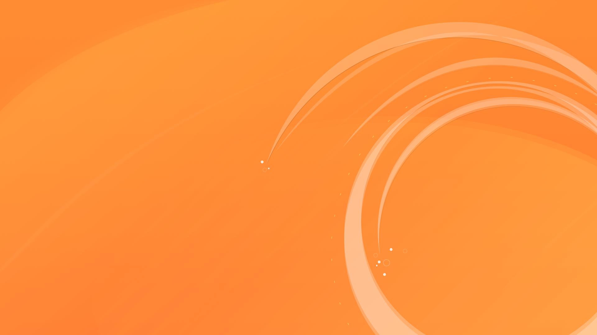 Circular-Orange-Wallpaper