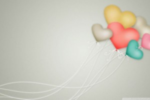 Colorful Heart Shaped Balloons