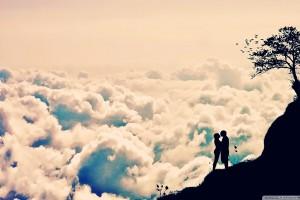 Coupole Kiss on Mountain