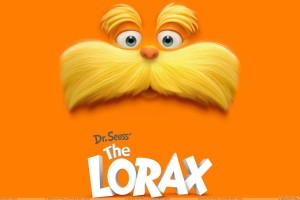 Dr. Seuss' The Lorax   Movie Cover Poster