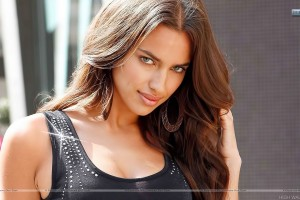 Erotic Smile of Irina Shayk