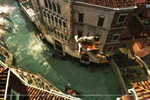 Ezio Diving In The River Near Market