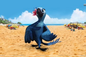 Female Bird Jewel in Movie Rio