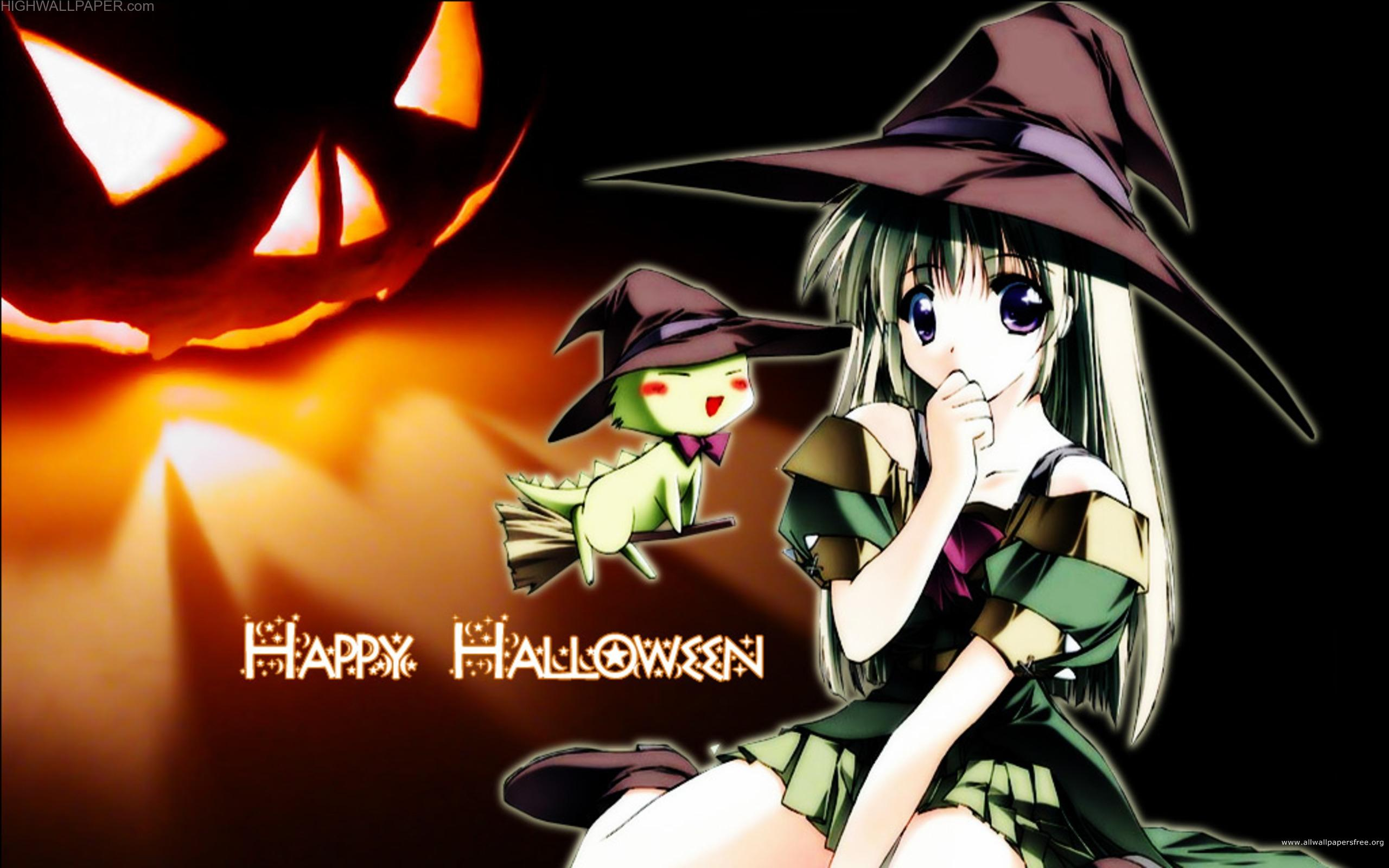 Happy Helloween Chiness Girl