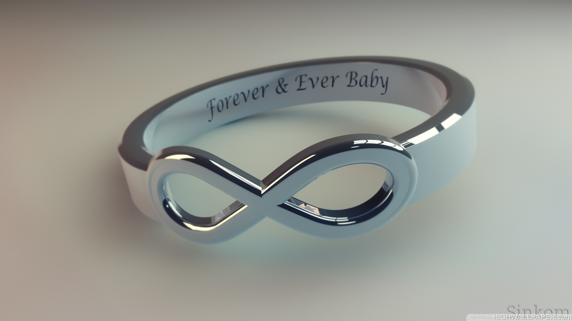 Forever and Ever Baby Ring