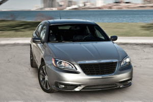 Front Pose Of 2011 Chrysler 200 S Sedan In Grey