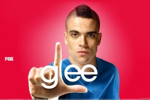 Glee   Mark Salling As Noah Puckerman Finger Man
