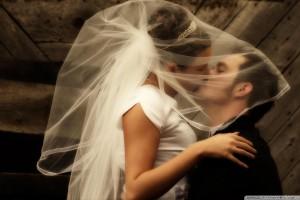 Groom Kiss Bride