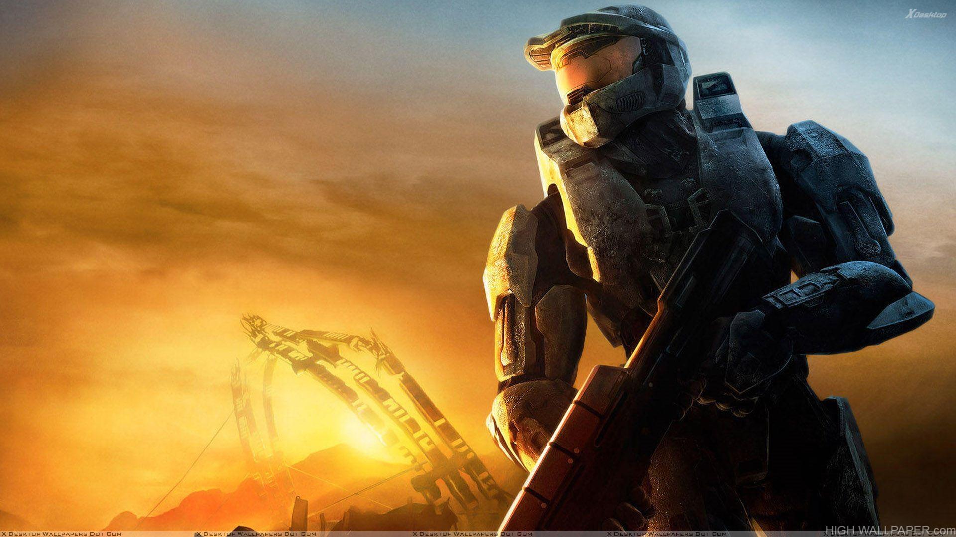 Halo 3   Sunset