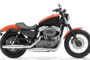 Harley Davidson Sportster Xl1200n Nightster Orange Color