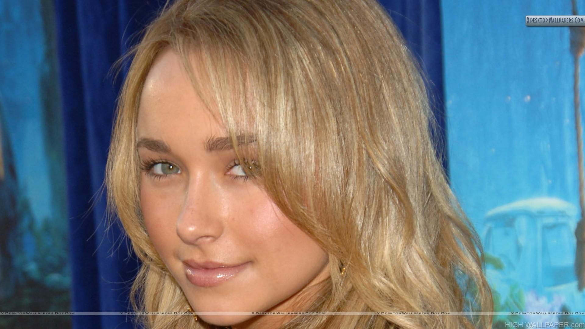 Hayden Panettiere Face Closeup