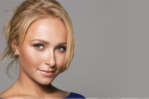 Hayden Panettiere Smiling And Wet Lips Face Closeup